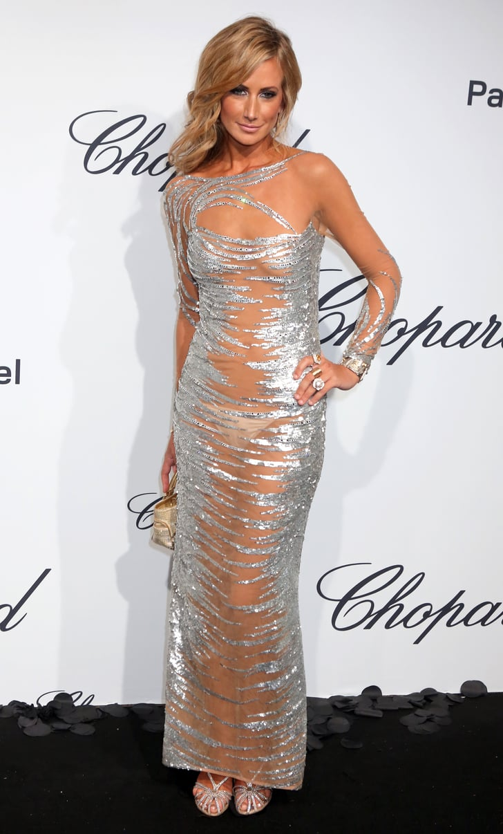 Lady Victoria Hervey Went Sheer Once Again For Chopard S