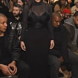 Kim Kardashian at NYFW