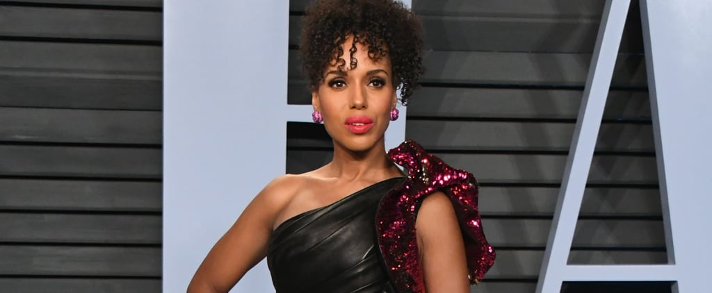 Kerry Washington Rocked a Sexy Leather Look From Head to Toe — and We Want It