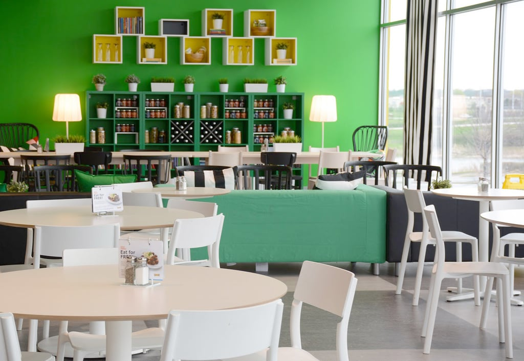 Ikea Remodels Restaurants POPSUGAR Home Custom Cafeteria Furniture Remodelling