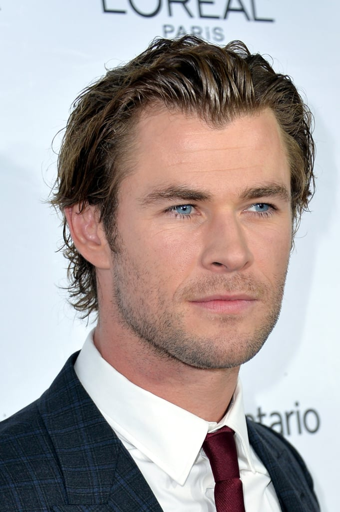 Chris Hemsworth slimmed down, losing about 30 pounds, to star in Rush.
