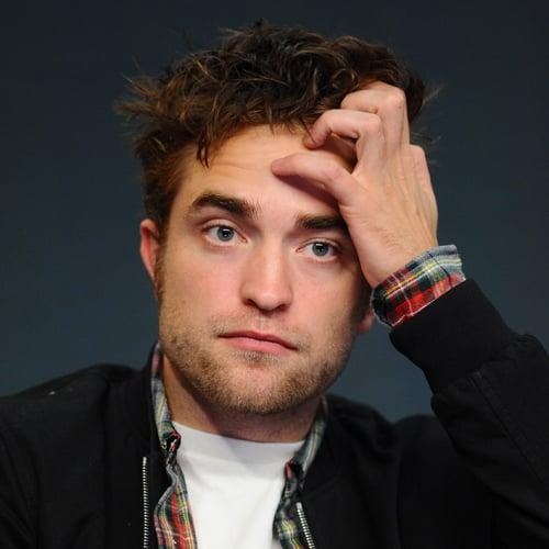 Robert Pattinson's vielfältige Gesichtsausdrücke