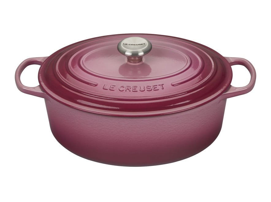 Le Creuset Oval Dutch Oven in Berry