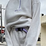 Champion UO Exclusive Polar Fleece Half-Zip Sweatshirt