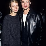 Gwyneth also dated Brad Pitt, her costar in 1995's Seven. They split in 1997 after three years together.