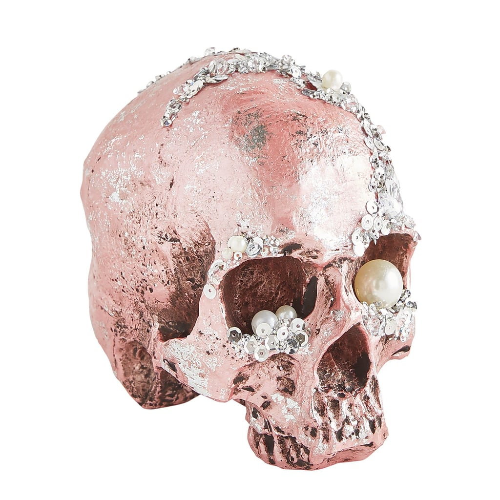 Bejeweled Halloween Skull Decoration From Pier 1
