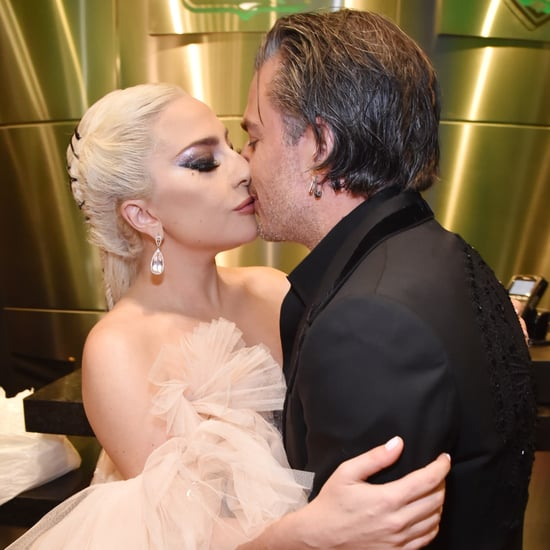 Lady Gaga and Christian Carino at 2018 Grammys