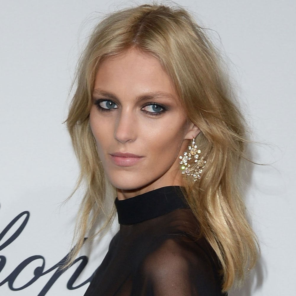 Anja Rubik at Chopard's Mystery Party