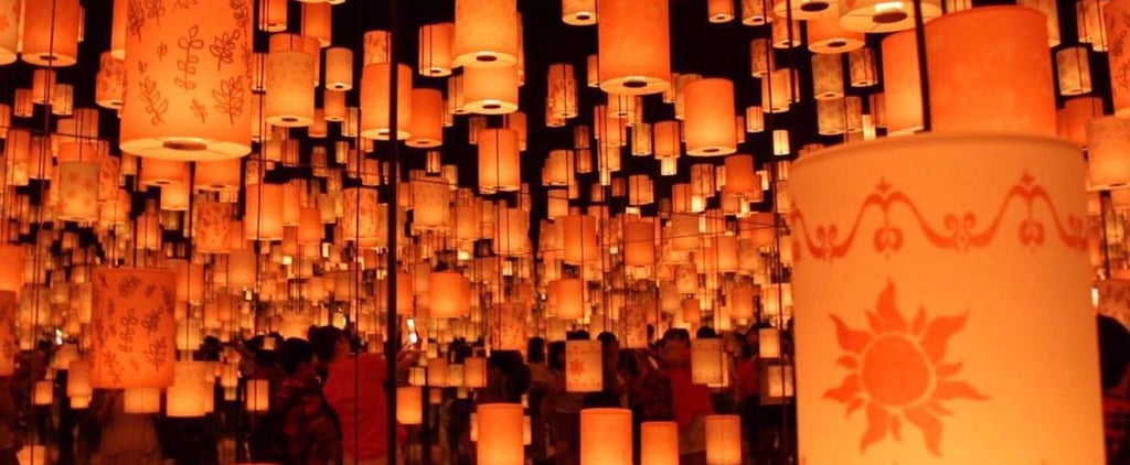 This Tangled-Themed Exhibit Features Tons of Glowing Lanterns — and It's Breathtaking