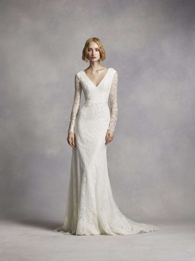 Vera Wang Chantilly Lace Wedding Dress