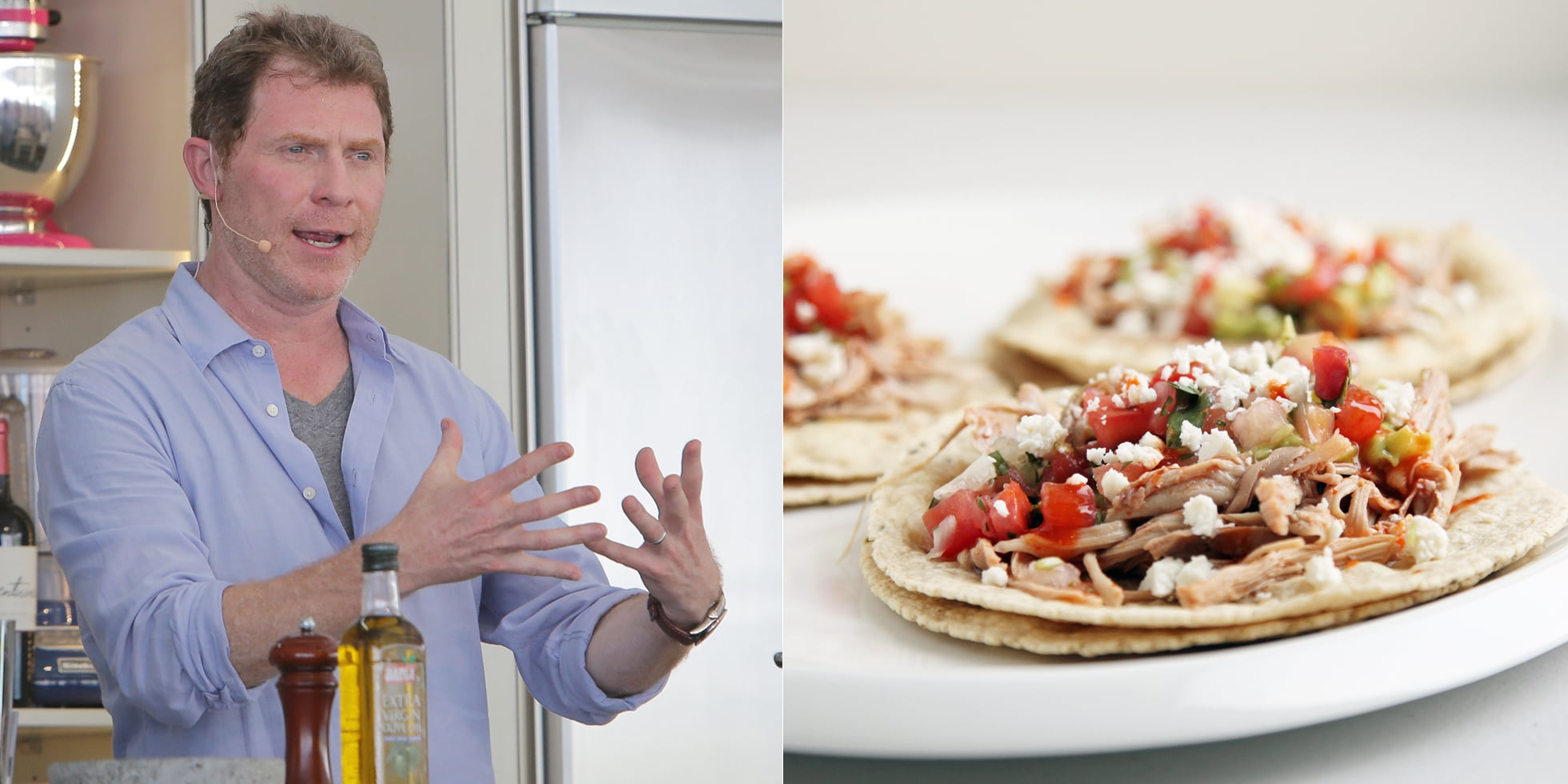 Bobby Flay S Taco Tips Popsugar Food