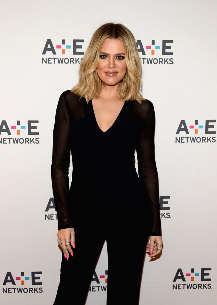 Khloe Kardashian With Medium-Length In 2016