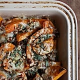 Apple, Leek, and Butternut Squash Gratin