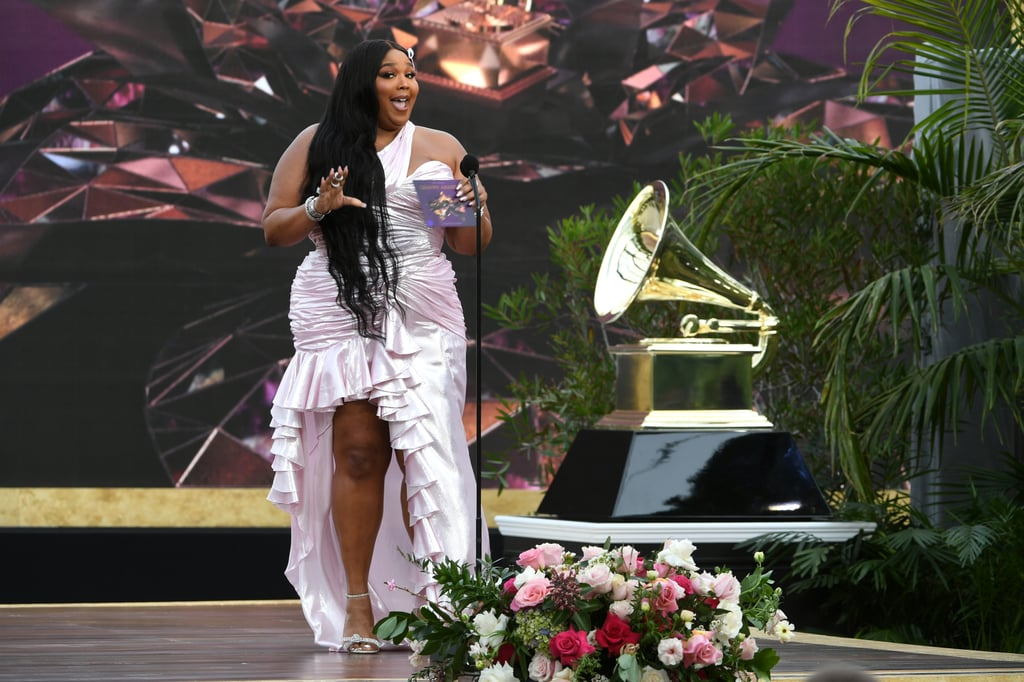 See Lizzo Present Best New Artist at the Grammys