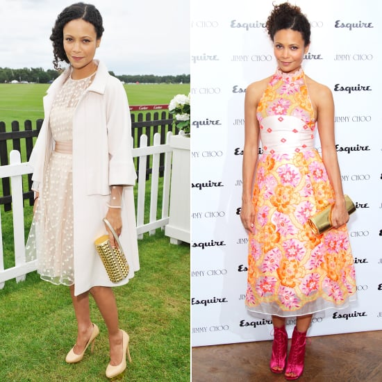 Thandie Newton Wears Temperley and Jimmy Choo This Weekend