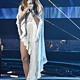Jennifer Lopez at the 17th Annual Latin Grammys in 2016