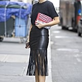 Alexandra Pereira at New York Fashion Week