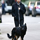Nicole Richie and Iro took a walk together.