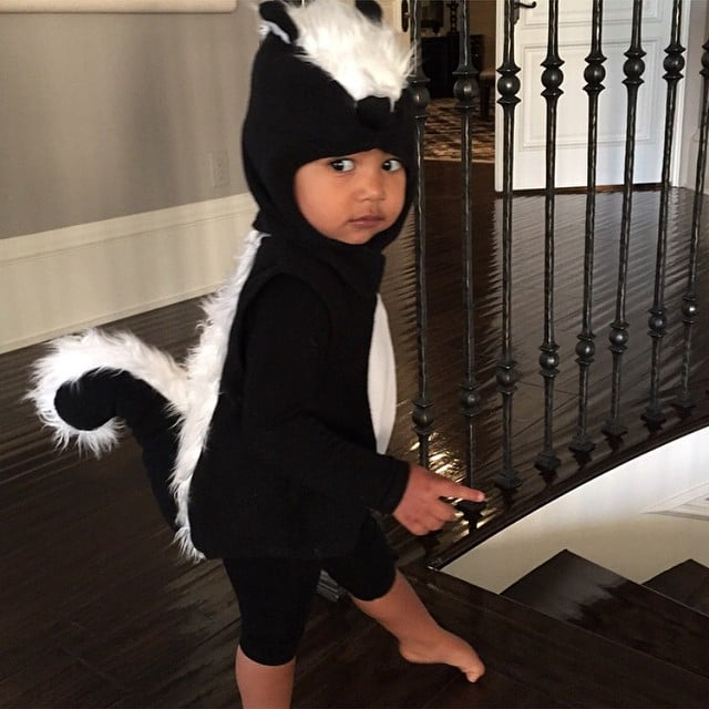 North West\'s Halloween Costume 2014 | Pictures | POPSUGAR Celebrity
