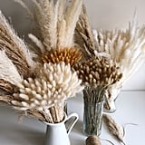 Pampas Grass Wedding Centrepieces