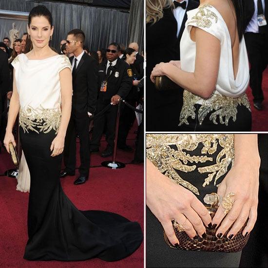 Sandra Bullock at Oscars 2012