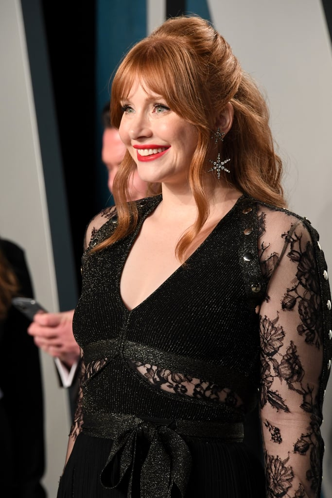 Bryce Dallas Howard at the Vanity Fair Oscars Afterparty 2020