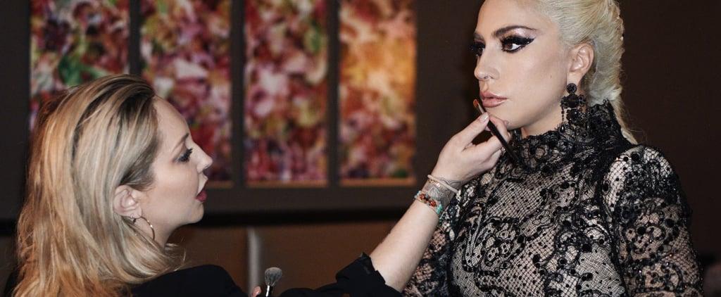 إطلالة مكياج ليدي غاغا في حفل جوائز الغرامي 2018