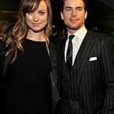 Olivia Wilde and Matt Bomer stayed for the In Time premiere afterparty.