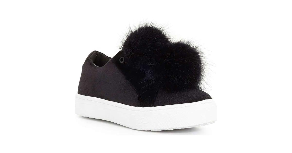 621da09b106290 Sam Edelman Leya Faux Fur Laceless Sneaker