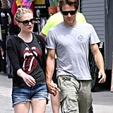 Anna Paquin wore a Rolling Stones t-shirt.