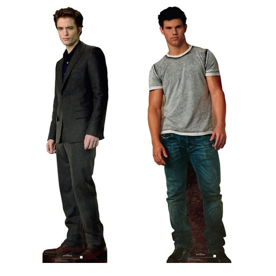 Edward and Jacob Life-Size Cut-Outs, approx. $25 each