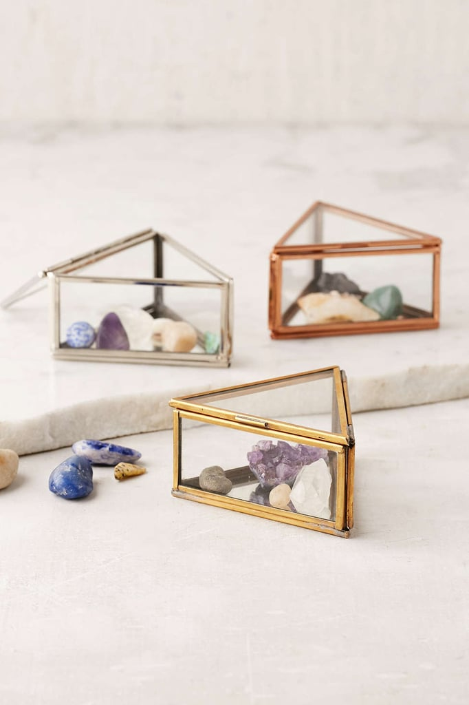 Urban Outfitters Triangle Glass Box ($12)