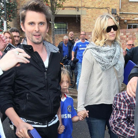 Kate Hudson, Ryder Robinson at Chelsea Soccer Match Pictures
