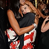 Even after all these years, Naomi Campbell and Kate Moss are still besties. The models partied in London after the British Fashion Awards.
