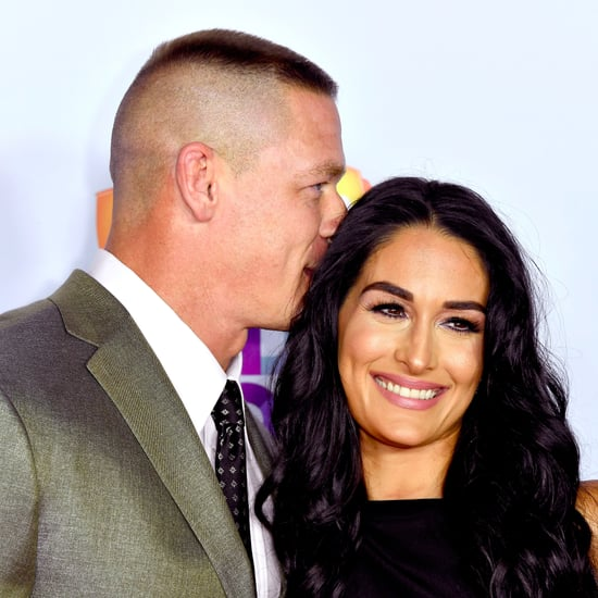 John Cena and Nikki Bella at 2017 Kids' Choice Awards