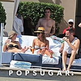 Jessica Alba in a Bikini in Las Vegas | May 2014