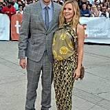 Pregnant Kristen Bell and Dax Shepard made a pretty pair at the premiere of The Judge.