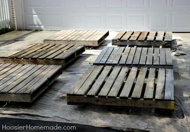 how to build a diy pallet deck popsugar home. Black Bedroom Furniture Sets. Home Design Ideas