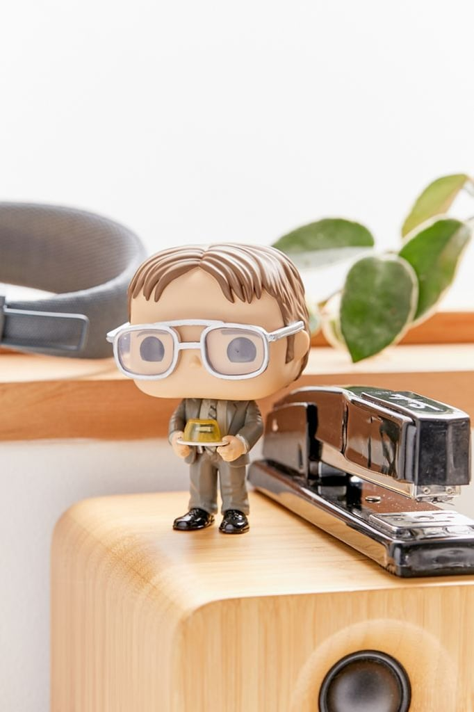 Funko Pop! Dwight With Gelatin Stapler Figure