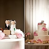 Traveling Couple Cake Topper