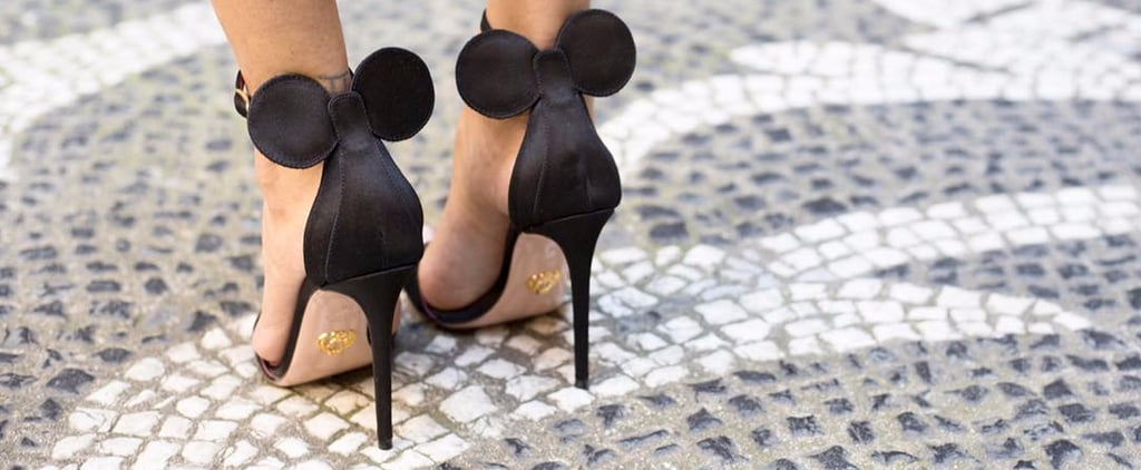 Fashion Girls and Disney Fans Are Obsessing Over These Chic Minnie Mouse Heels