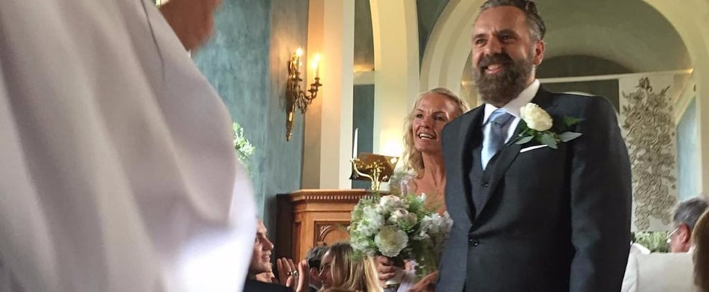 This Millionaire Heiress's Sheer Wedding Dress Was Straight Out of a Fairy-Tale Book