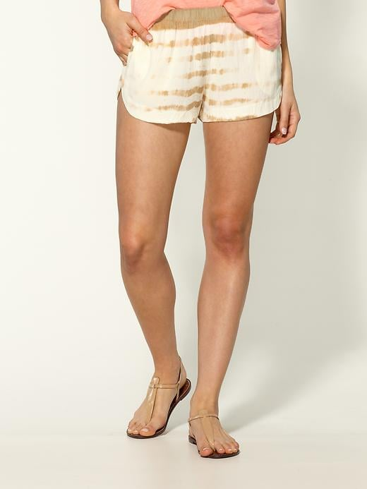 Gypsy 05 striped silk shorts ($132)