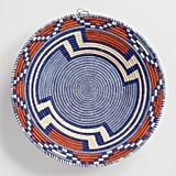 Orange and Blue Ugandan Basket