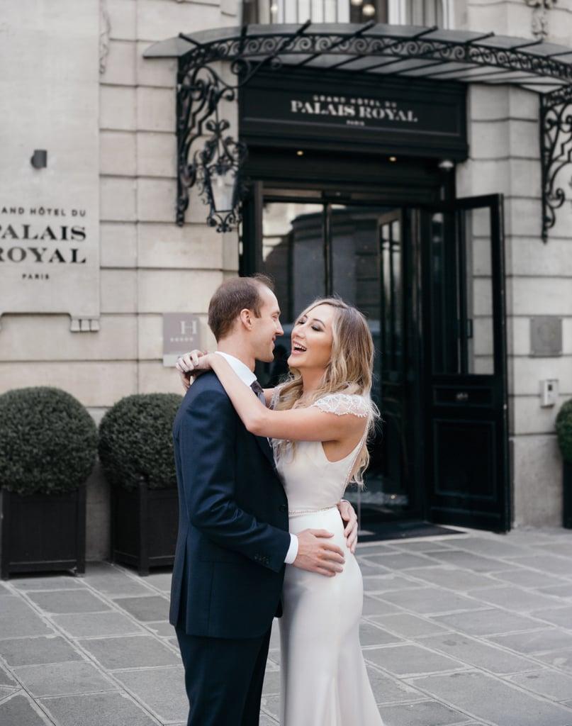 e3a76e28beee Carly Cristman Alvina Valenta Dress Engagement Photoshoot   POPSUGAR ...