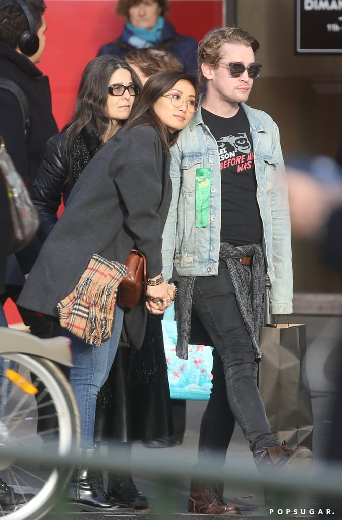 "Brenda Song and Macaulay Culkin are officially parents! The couple — who first began dating in 2017 after meeting on the set of their movie Changeland — welcomed their first child, a baby boy named Dakota, on April 5. ""We're overjoyed,"" the duo said in a statement to Esquire, who first broke the news. While Brenda and Macaulay have been together for four years now, the couple are pretty private when it comes to their relationship. Aside from a few casual outings and photos on social media, not much is known about their romance.  However, Brenda did gush about her other half to Esquire last year, saying, ""People don't realize how incredibly kind and loyal and sweet and smart he is. Truly what makes Mack so special is that he is so unapologetically Mack. He knows who he is, and he's 100 percent okay with that. And that to me is an incredibly sexy quality. He's worked really hard to be the person he is."" Keep reading to see the few glimpses we've gotten of their relationship over the years."