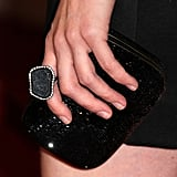 Love the organic feel of Gillian Jacobs's ring.