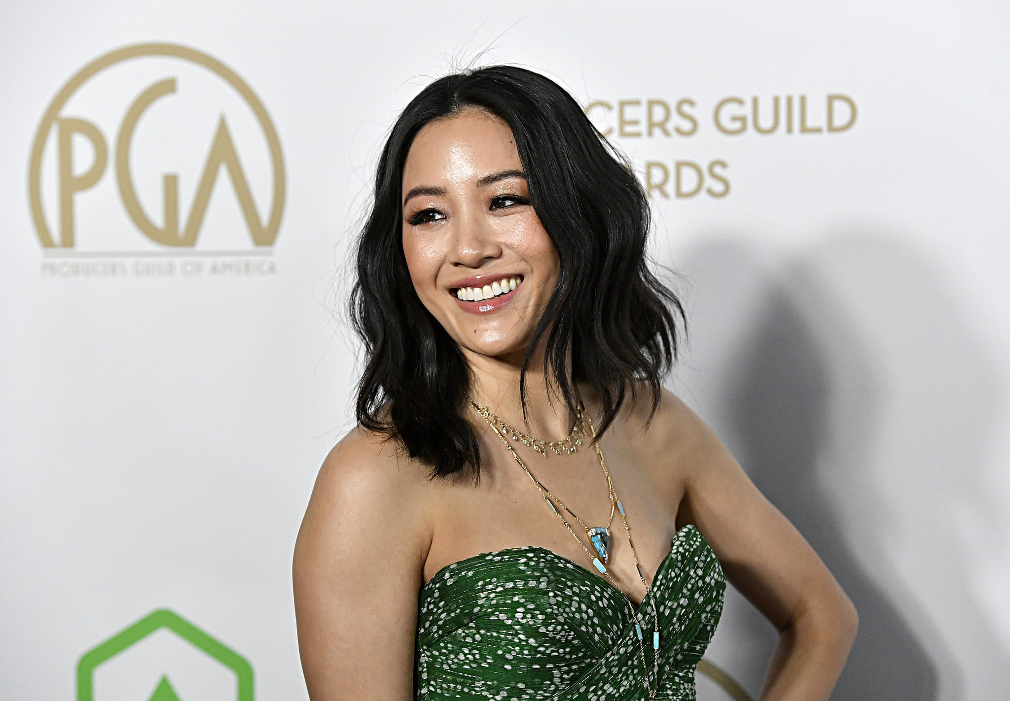 LOS ANGELES, CALIFORNIA - JANUARY 18: Constance Wu attends the 31st Annual Producers Guild Awards at Hollywood Palladium on January 18, 2020 in Los Angeles, California. (Photo by Frazer Harrison/Getty Images)