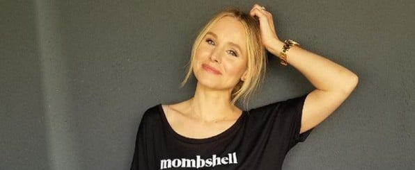 Kristen Bell Takes Dad-Style Mother's Day