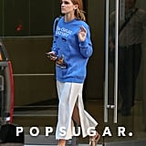 Emma Watson Flaunts Her Love of Literature in NYC